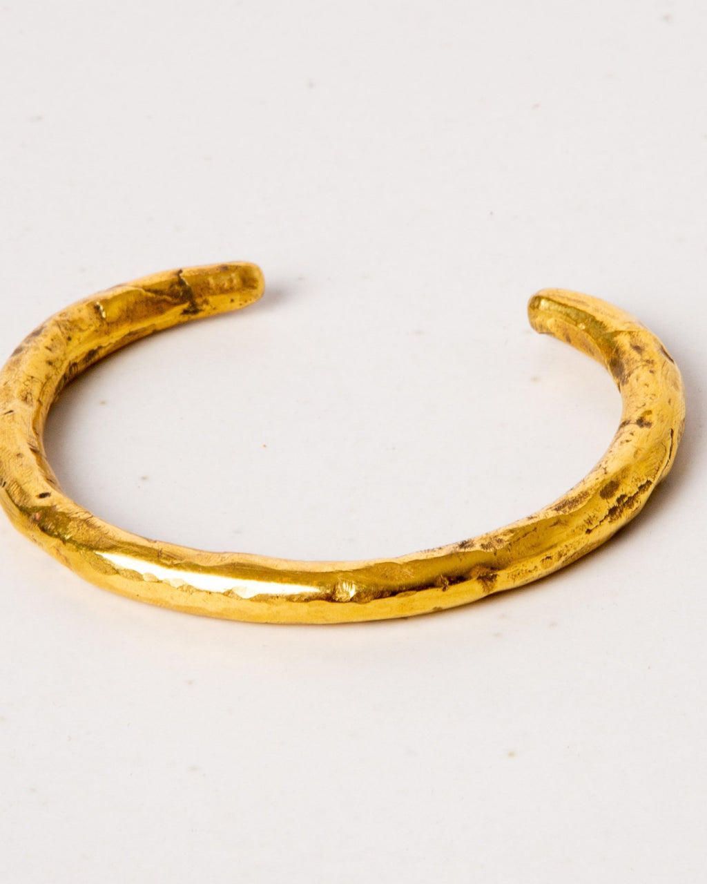 Brass Bangle Rounded