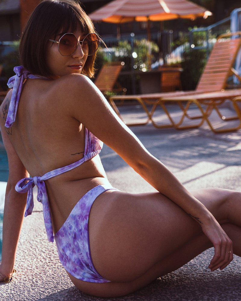 Ace Bikini Bottoms in La-La Lavender