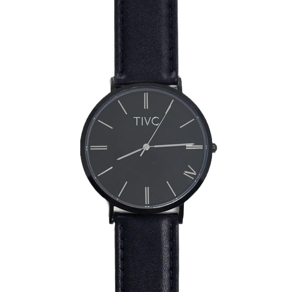 Black | Black Stitched Band