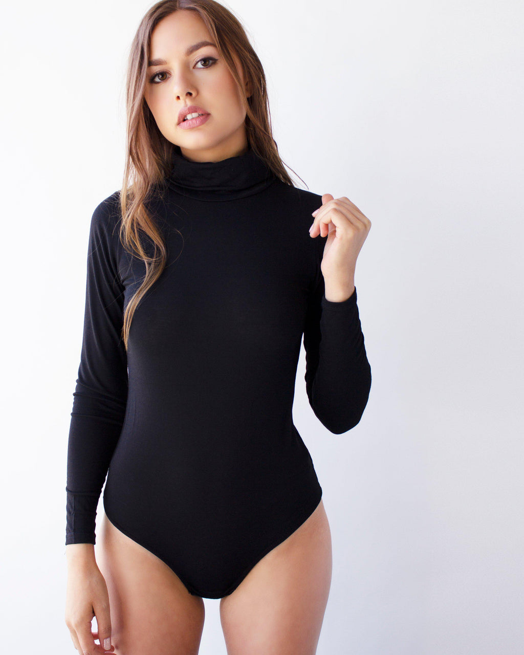 ICONIC BODYSUIT- BLACK