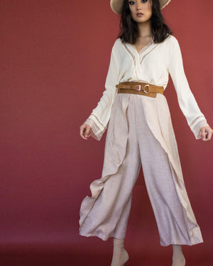 JUNIPER PANTS- VINTAGE ROSE