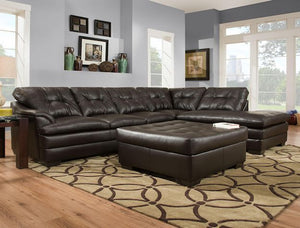 Apollo Espresso Sofa Sectional