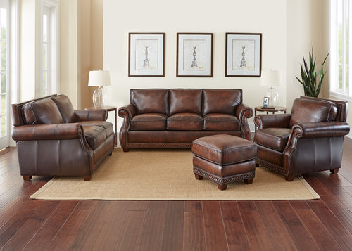 Jamestown Genuine Leather Sofa