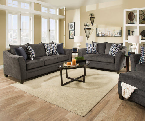 Albany Slate Sofa/Loveseat Collection