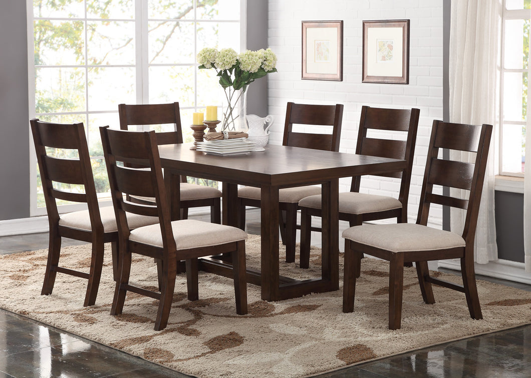Volante Casual  7 PC Dining Room Set