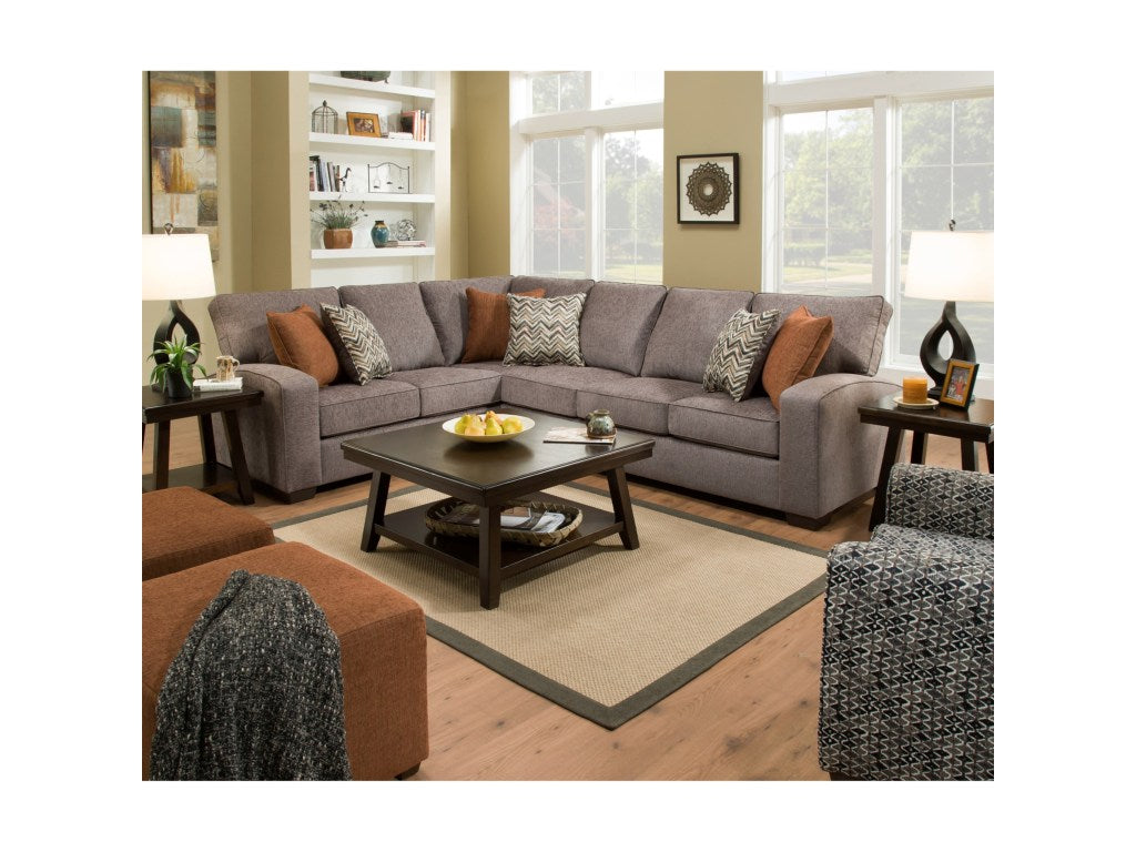 Simmons Westwood Sectional (Shadow)