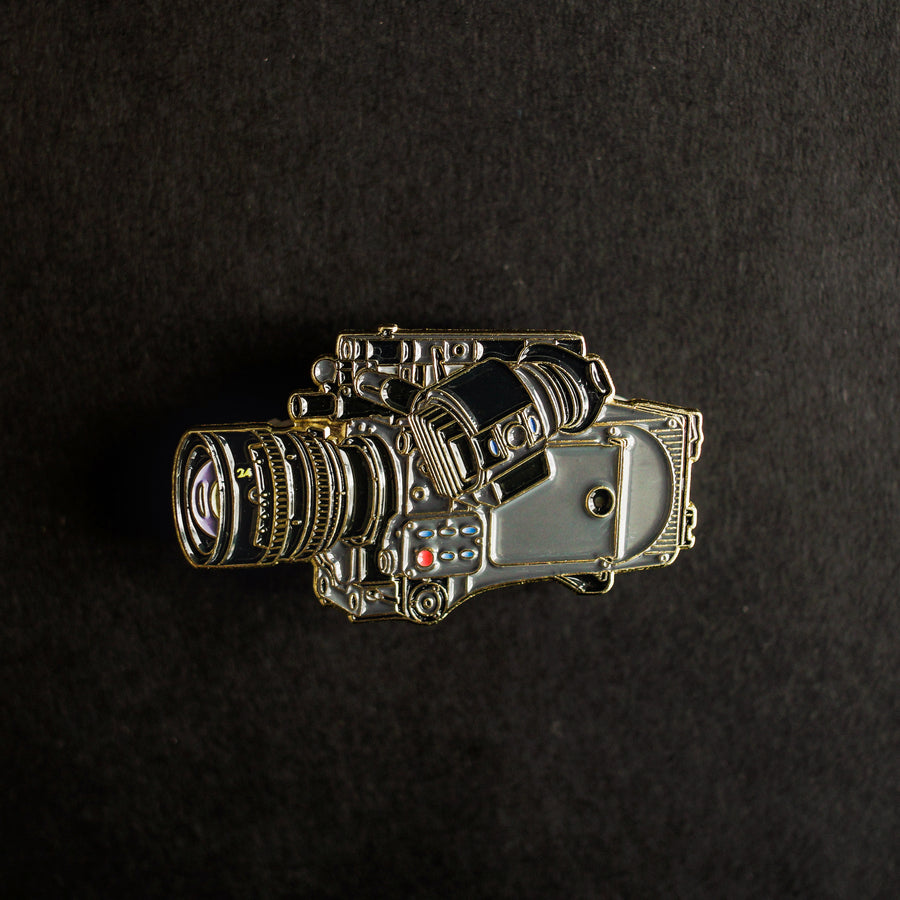 Cine Camera Enamel Pin