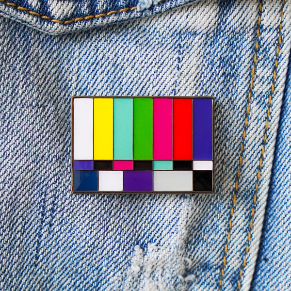 Bars and Tone Enamel Pin