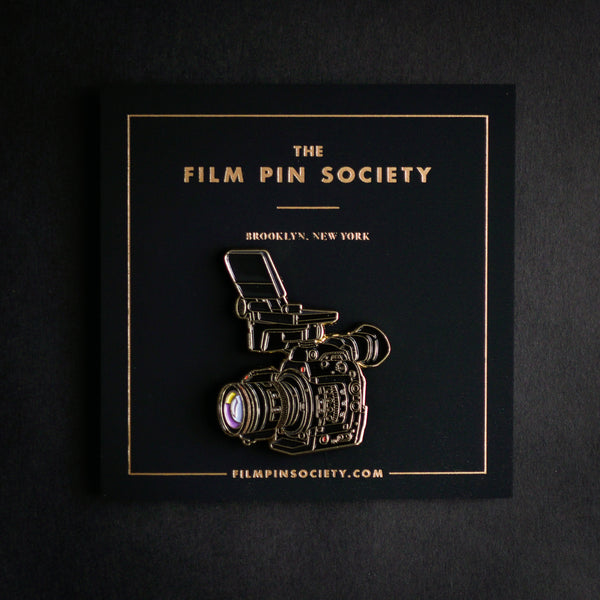Doc Camera Enamel Pin