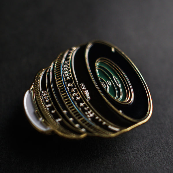 35mm F/1.5 Lens Enamel Pin