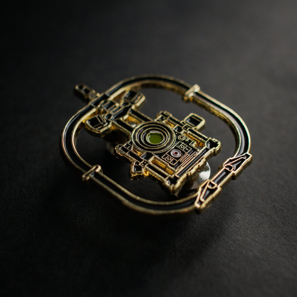 Camera Stabilizer Enamel Pin