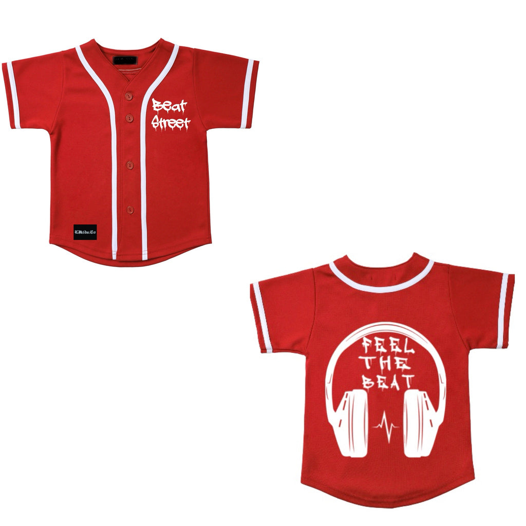 Feel The Beat Baseball Jersey