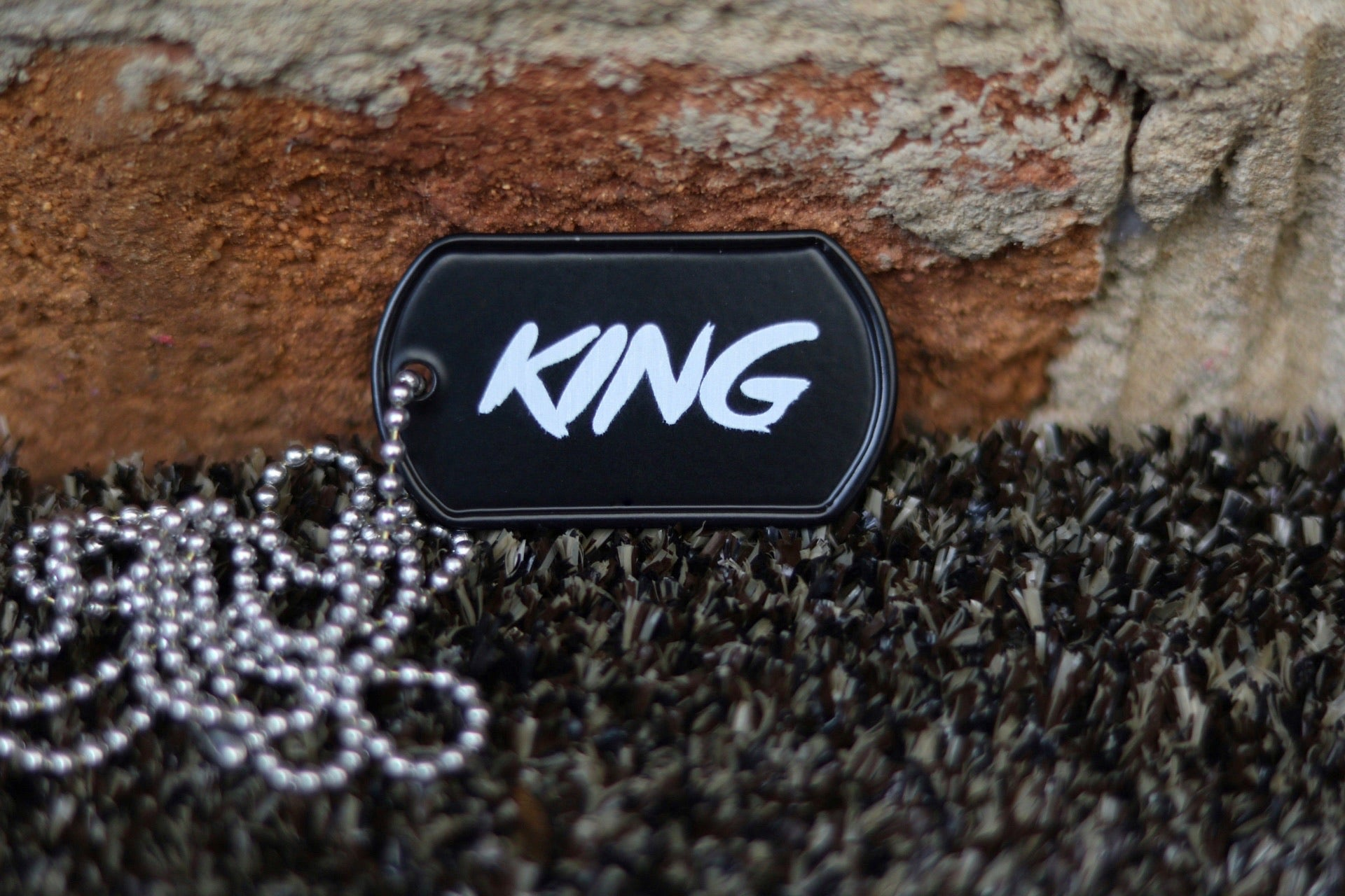 KING Dog Tag
