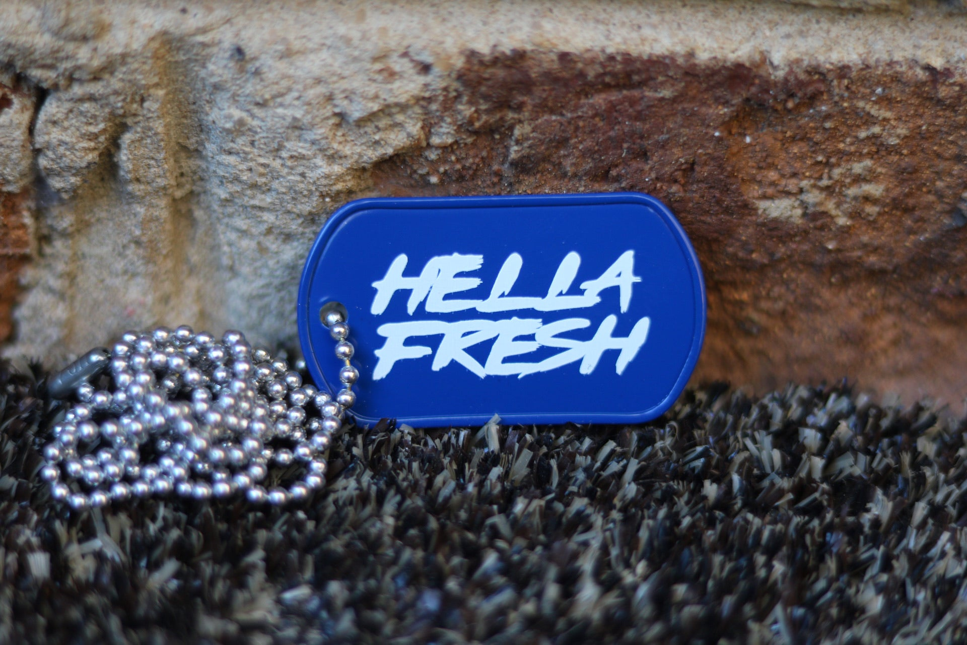 HELLA FRESH Dog tag