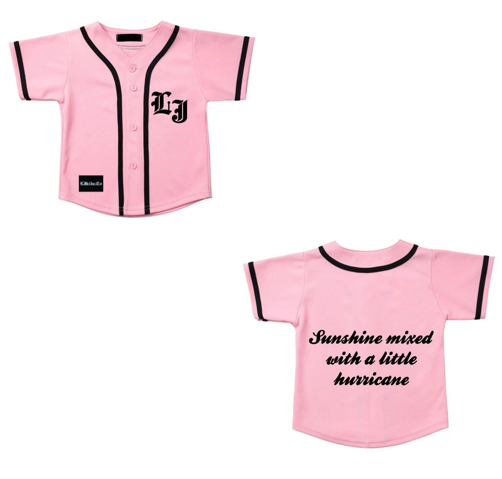 Sunshine mixed Baseball Jersey