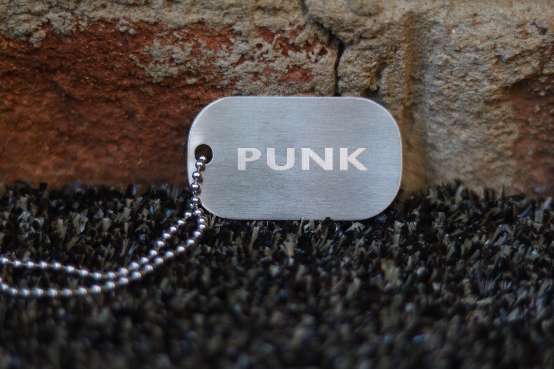 PUNK Diamond Engraved Chain