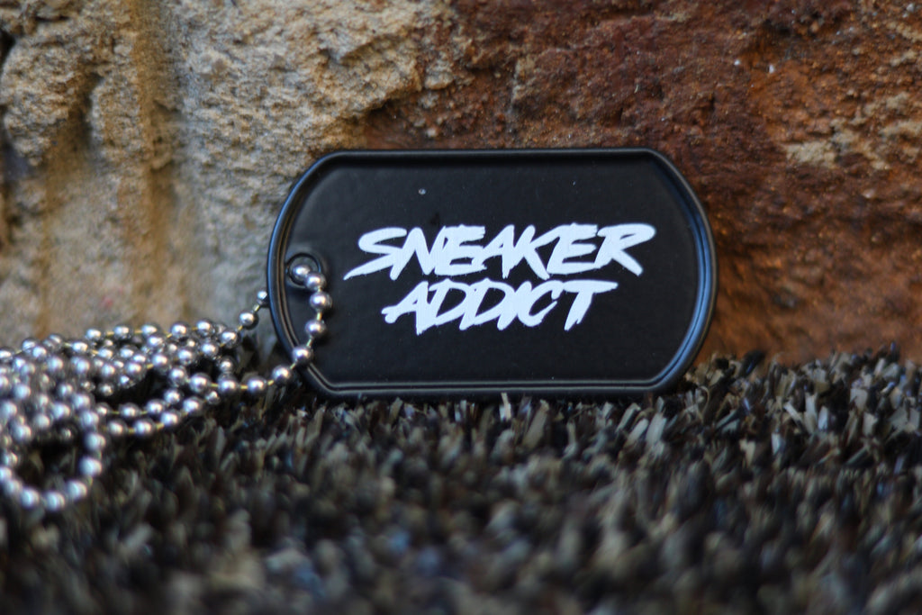 Sneaker Addict Dog Tag
