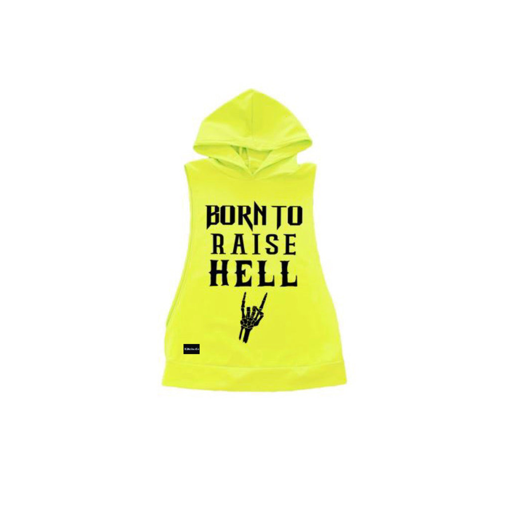 Born To Raise Hell Edgy Tank