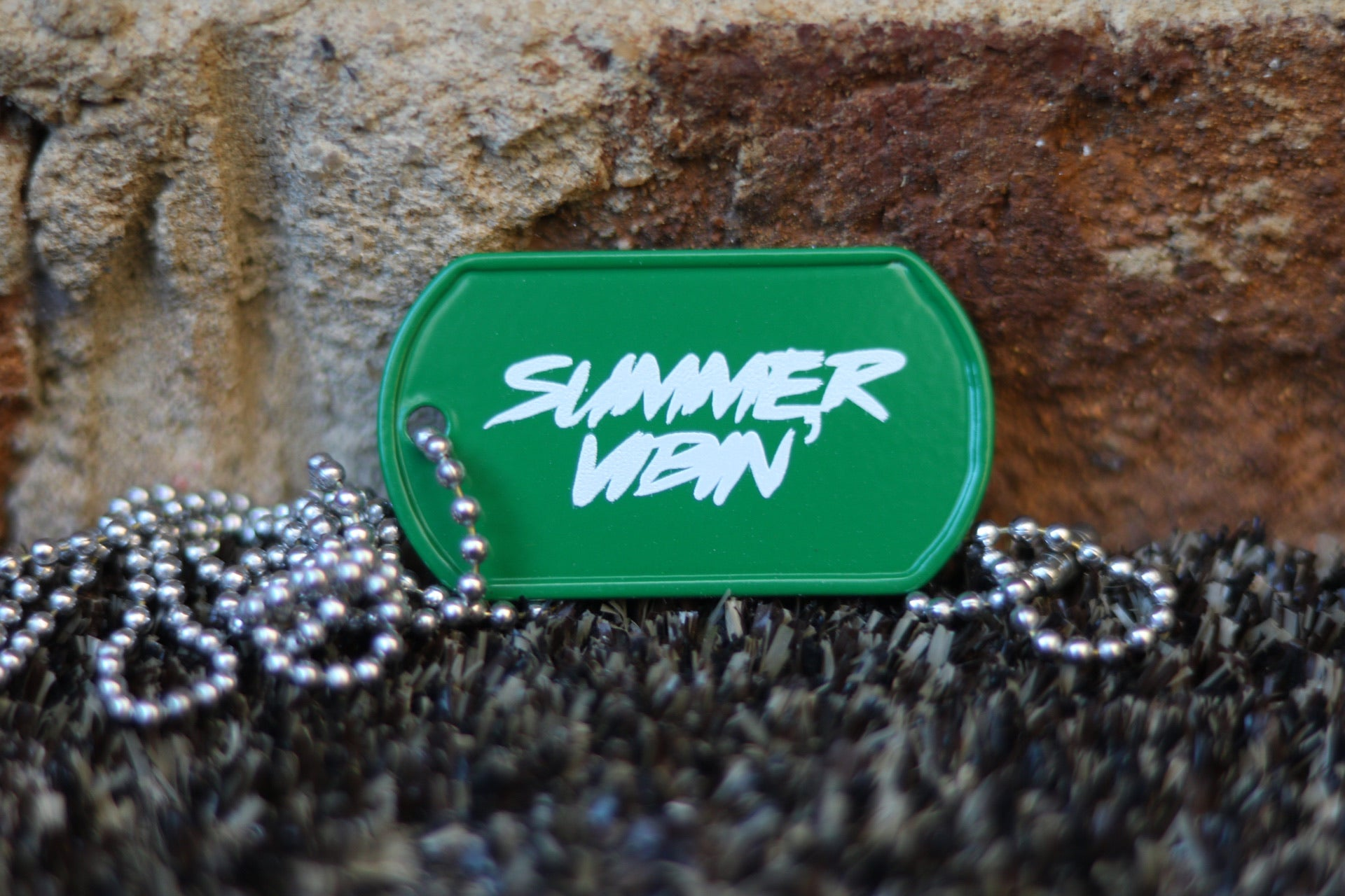 Summer Vibin' Dog Tag