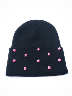 Pretty N Punk Spiked Beanie