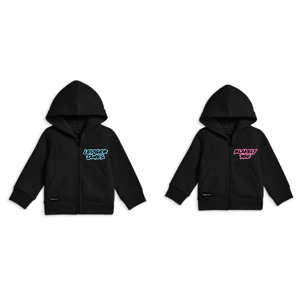 Name Zip Up Jackets