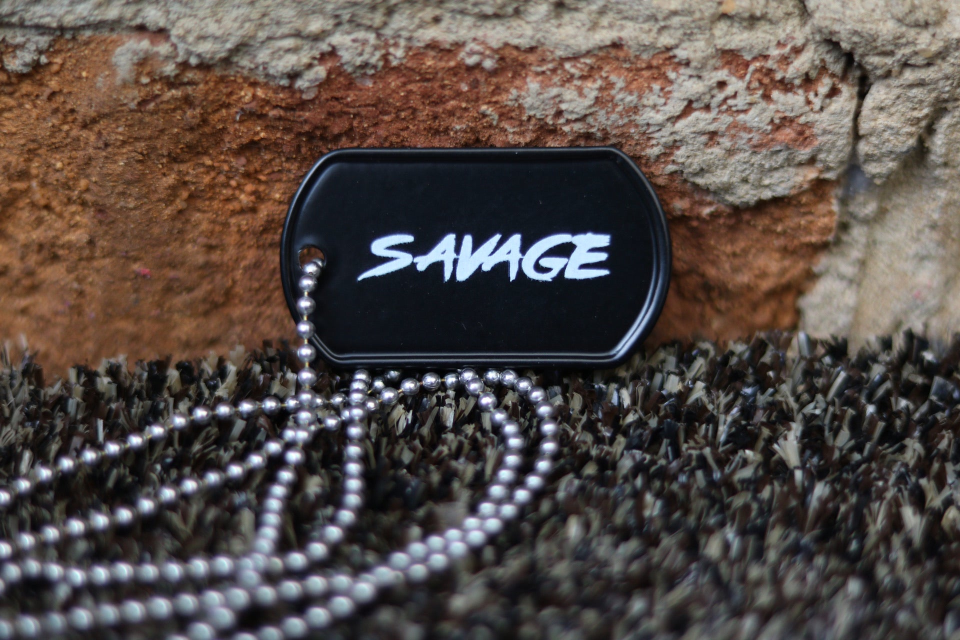 SAVAGE Dog Tag