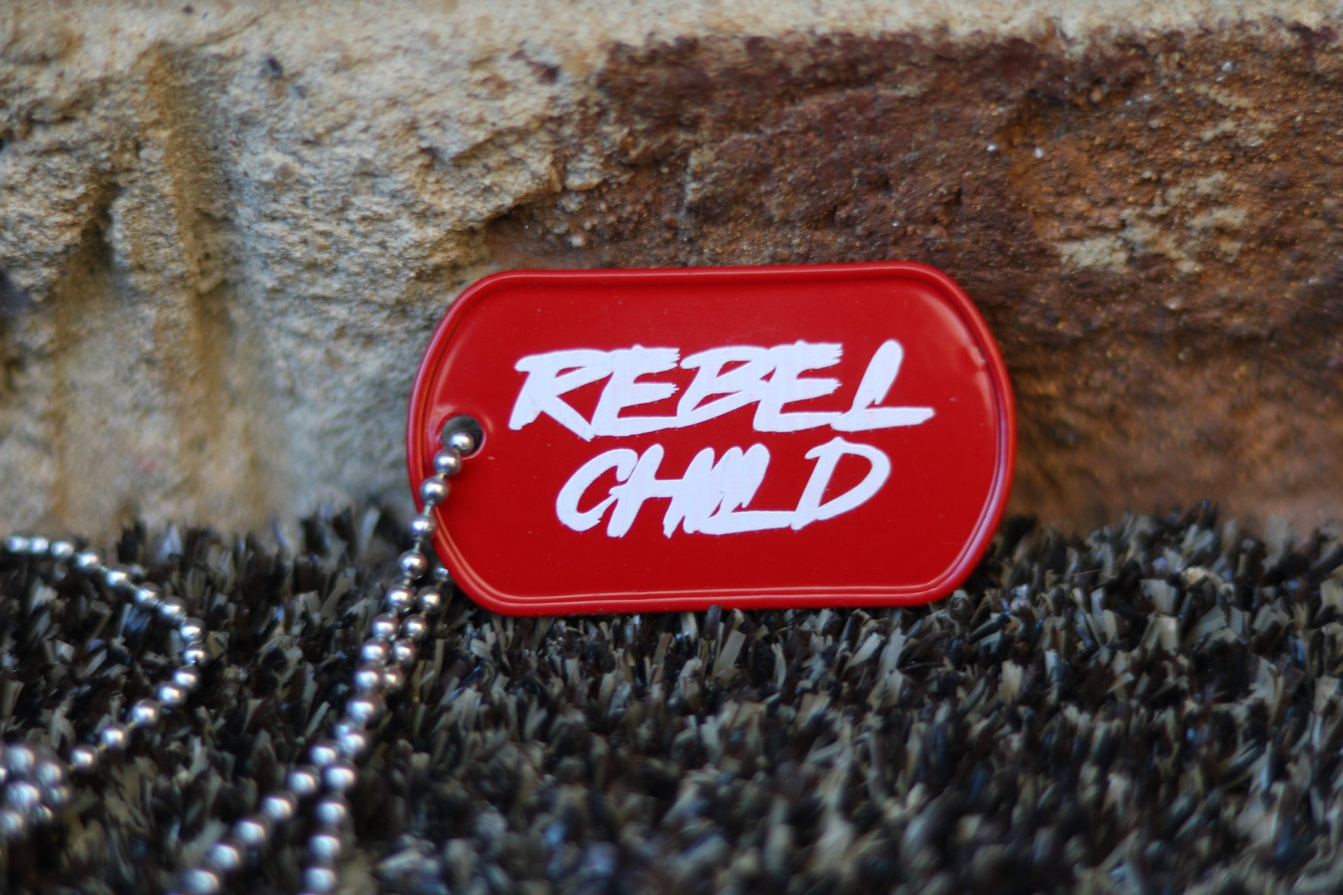 REBEL CHILD Dog Tag