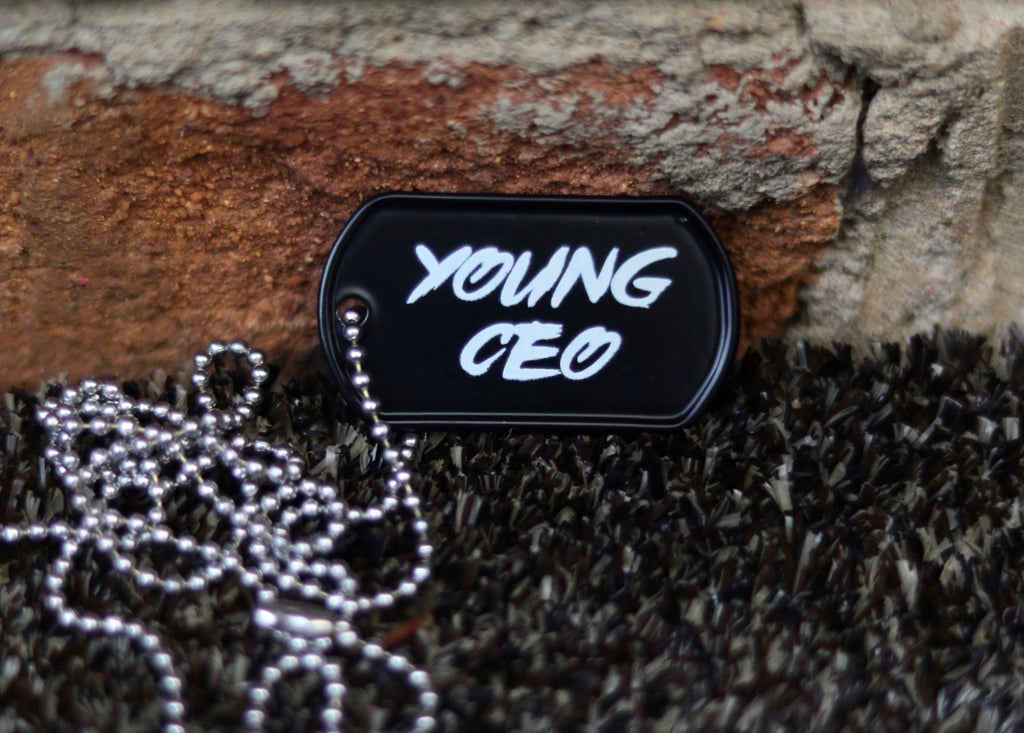 YOUNG CEO Dog Tag