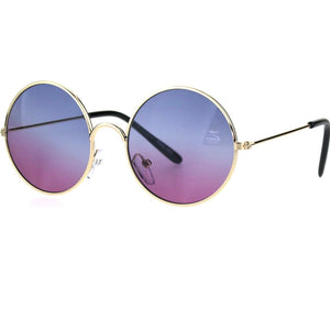 Blue Purple Sunglasses