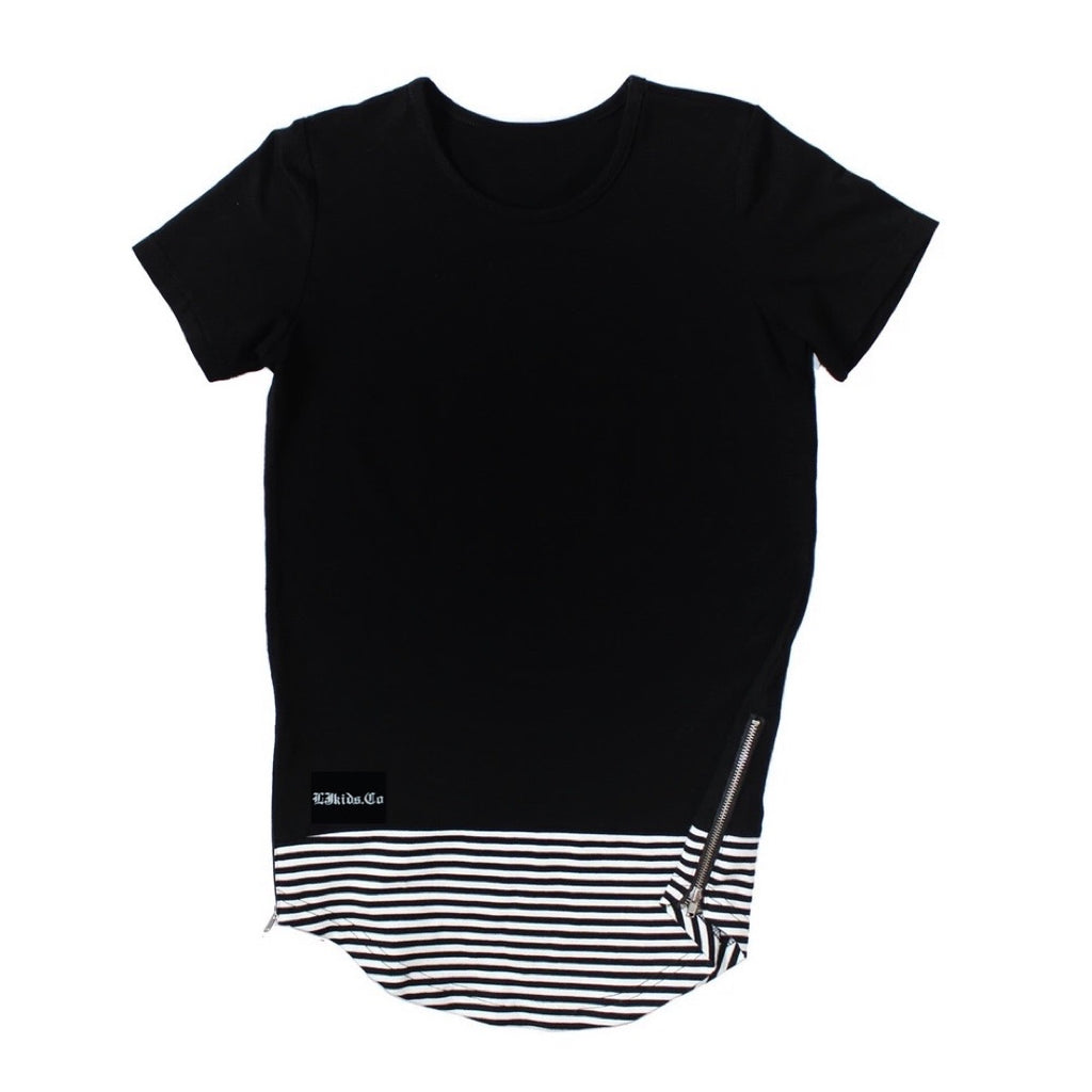 RTS Plain Zipper Tee (size up)