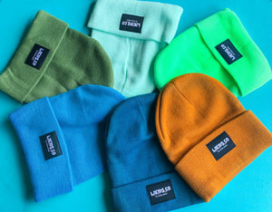 Colored Beanies