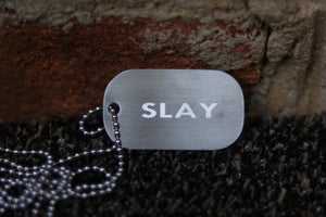 SLAY Diamond Engraved Chain