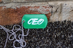 CEO Dog tag
