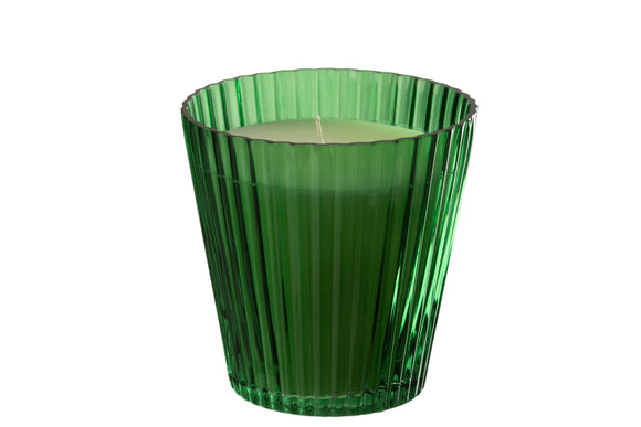 Bougie Caya Cannelures Verre Candle Caya Ridges Glass 120h