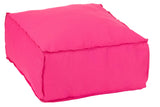 Pouf Carre Polyester Hassock Cushion Stool Square