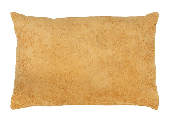 Coussin Long Fayola Coton Cushion Fayola Cotton Ochre