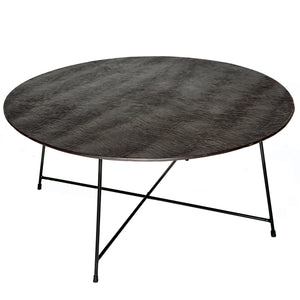 Table Basse Ronde Oslo Atzana
