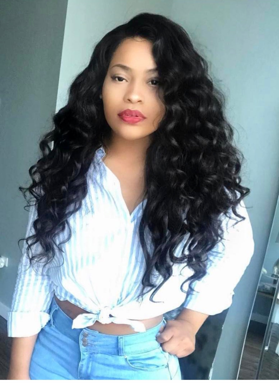 Brazilian Loose Wave (individual  bundles)