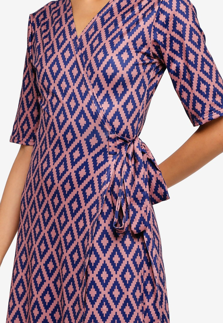 Luna Wrap Dress