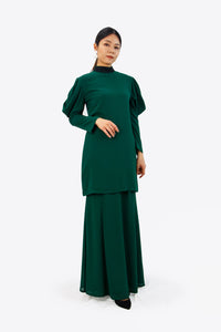 Audrey Kurung in Emerald Green