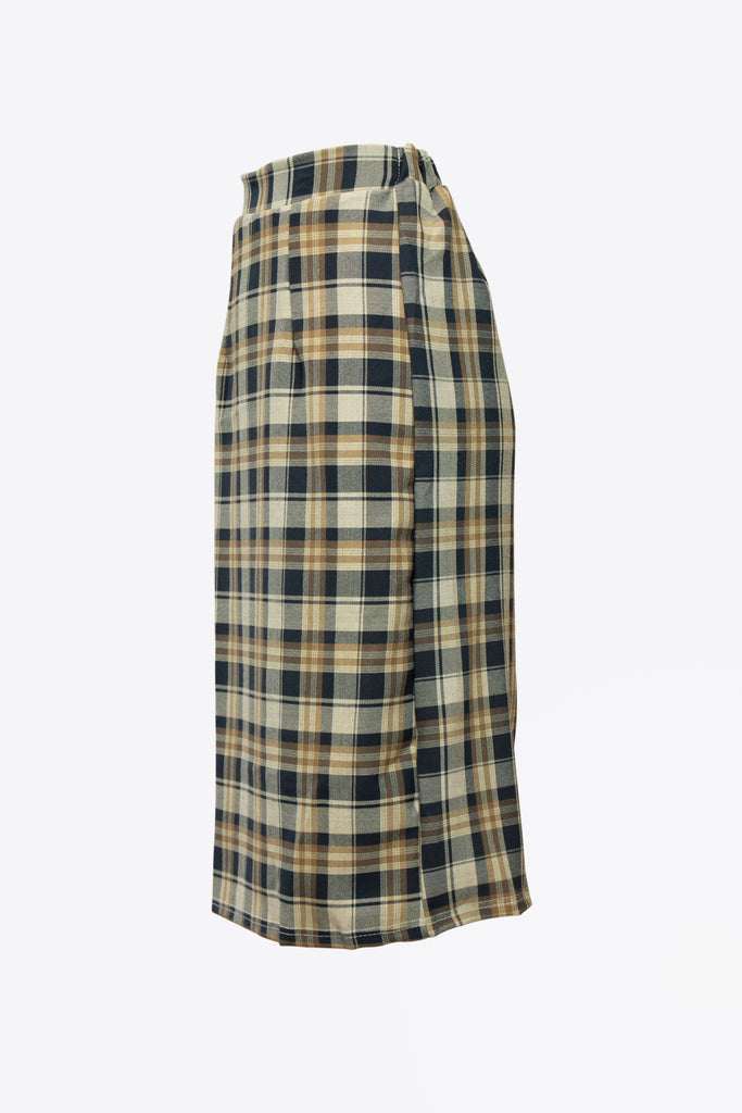 Taurus Checkered Skirt