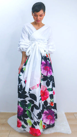 JRenisa Printed Skirt