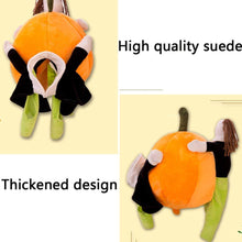 Load image into Gallery viewer, (70% off)Cute pet pumpkin costume, winter warm clothing, suitable for taking pictures, travel, Halloween, Christmas