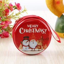 Load image into Gallery viewer, Christmas Decorations Creative Cartoon Tinplate Coin Purse