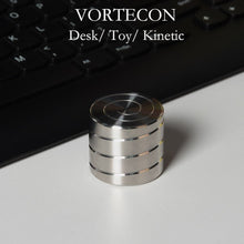 Load image into Gallery viewer, Vortecon Kinetic Mesmerizing Motion Desk Toy Anti-stress Fidget Finger Spinner