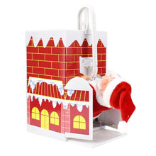 Load image into Gallery viewer, Lovely santa climbing chimney Enjoyable Gift Toy with Music