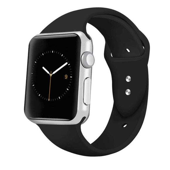 Soft Silicone Sport Band For Apple Watch