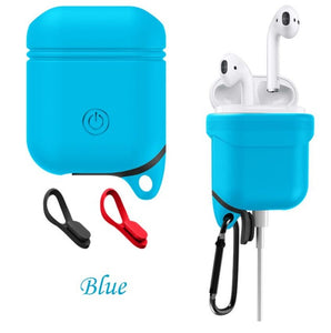Soft Silicone Cover Waterproof Shock Resistant Case For Airpods