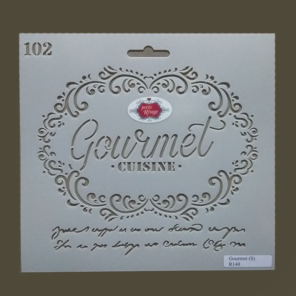 No.102 Gourmet (small) (240mm x 22mm)