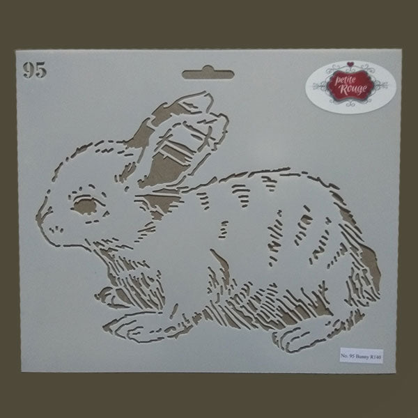 No.95 Bunny (295mm x 245mm)